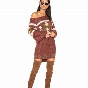 Free People Northern Lights Sweater Dress